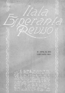 "Itala Esperanta Revuo : oficiala organo de la ""Itala Esperantista Federacio"". Jaro 11, N 8/9 (1924)"