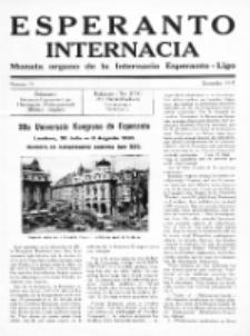 Esperanto Internacia : monata organo de la Internacia Esperanto-Ligo. No 15 (decembro 1937)