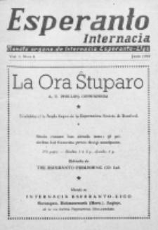 Esperanto Internacia : monata organo de la Internacia Esperanto-Ligo. Vol. 3, No 6 (junio 1939)