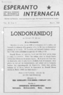 Esperanto Internacia : monata organo de la Internacia Esperanto-Ligo. Vol. 10, No 3 (marto 1946)