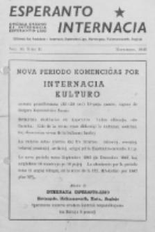 Esperanto Internacia : monata organo de la Internacia Esperanto-Ligo. Vol. 10, No 11 (novembro 1946)