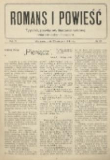 Romans i Powieść. R. 6, nr 25 (20 czerwca 1914)