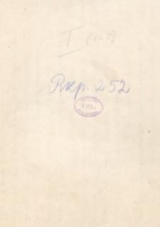 Dziejopisarstwo Liwiusza [autograf]
