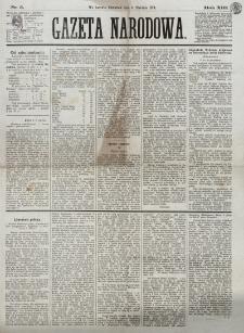 Gazeta Narodowa. R. 13 (1874), nr 5 (8 stycznia)