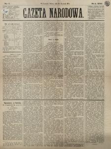 Gazeta Narodowa. R. 13 (1874), nr 7 (10 stycznia)