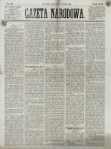 Gazeta Narodowa. R. 13 (1874), nr 12 (16 stycznia)