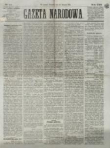 Gazeta Narodowa. R. 13 (1874), nr 14 (18 stycznia)