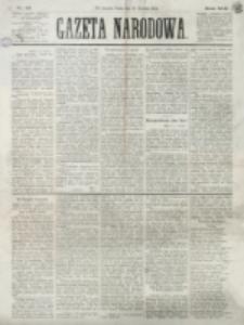 Gazeta Narodowa. R. 13 (1874), nr 16 (21 stycznia)