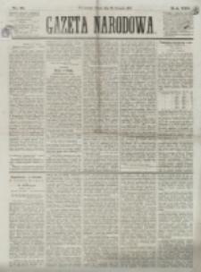 Gazeta Narodowa. R. 13 (1874), nr 18 (23 stycznia)
