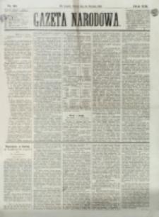 Gazeta Narodowa. R. 13 (1874), nr 20 (25 stycznia)