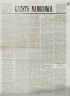 Gazeta Narodowa. R. 13 (1874), nr 21 (27 stycznia)