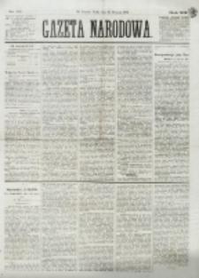 Gazeta Narodowa. R. 13 (1874), nr 22 (28 stycznia)
