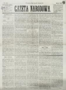 Gazeta Narodowa. R. 13 (1874), nr 24 (30 stycznia)