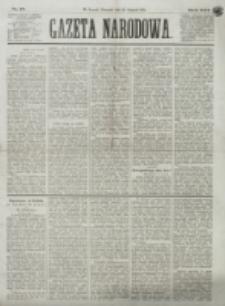 Gazeta Narodowa. R. 13 (1874), nr 17 (22 stycznia)