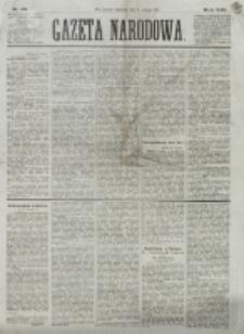 Gazeta Narodowa. R. 13 (1874), nr 28 (5 lutego)