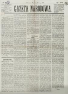 Gazeta Narodowa. R. 13 (1874), nr 35 (13 lutego)
