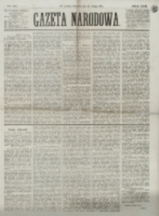 Gazeta Narodowa. R. 13 (1874), nr 34 (12 lutego)