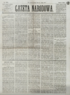 Gazeta Narodowa. R. 13 (1874), nr 36 (14 lutego)
