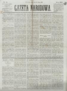Gazeta Narodowa. R. 13 (1874), nr 41 (20 lutego)