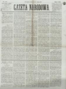 Gazeta Narodowa. R. 13 (1874), nr 42 (21 lutego)