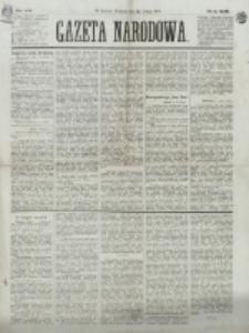 Gazeta Narodowa. R. 13 (1874), nr 43 (22 lutego)