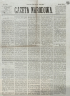 Gazeta Narodowa. R. 13 (1874), nr 45 (26 lutego)