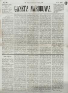 Gazeta Narodowa. R. 13 (1874), nr 46 (26 lutego)