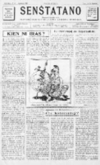 Senŝtatano : monata informilo de la Provizora Komitato de la Junul-Anarkista Internacio : sendependa organo liberecana. 2-a Jaro, No 6 (Januaro 1947)