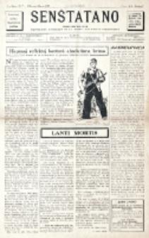 Senŝtatano : monata informilo de la Provizora Komitato de la Junul-Anarkista Internacio : sendependa organo liberecana. 2-a Jaro, No 7 (Februaro-Marto 1947)