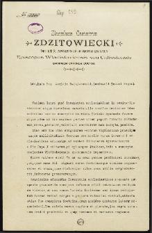 Akt mianowania Idziego Radziszewskiego regensem Seminarium Duchownego diecezji kujawsko-kaliskiej 1908 roku