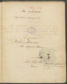 De melituria. Dissertatio inauguralis ad gradum Doctoris Medicinae rite adipiscendum conseripsit Felix Głogowski Polonus