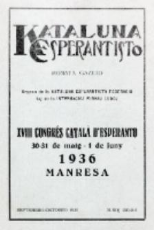 Kataluna Esperantisto : monata gazeto : oficiala organo de la Kataluna Esperantista Federacio. 1935, n-roj 220-221 (Septembro-Oktobro)