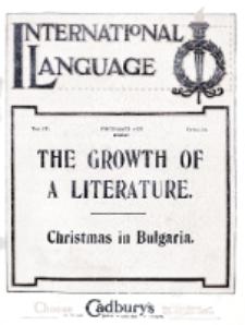 International Language : a monthly magazine. Vol. 4 (1927), December