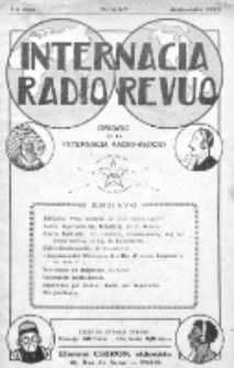 Internacia Radio-Revuo : organo de la Internacia Radio-Ascio. Jaro 1, No 6/7 (Junio-Julio1926)