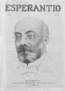 Esperantio. No 1 (1923)