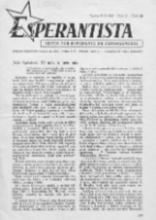 Esperantista : revuo por esperanto en Ĉeĥoslovakio. Roc. 2, Cis. 10 (1947)