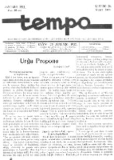 Tempo : monata gazeto. Jaro 4, No 26 (januaro1937)
