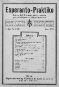 Esperanto-Praktiko : instrua kaj literatura gazeto monata por perfektigo en la Lingvo Internacia.Jaro 5, No 3=51 (marto1923)