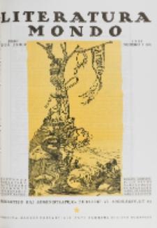 Literatura Mondo. Jaro 2, numero 7=10 (Julio 1923)