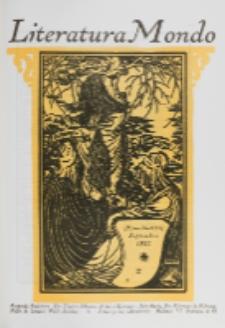Literatura Mondo. Jaro 2, numero 9 (Septembro 1923)