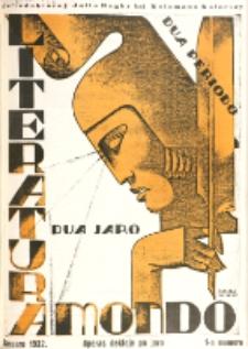 Literatura Mondo. Periodo 2, Jaro 2, numero 1 (Januaro 1932)
