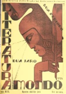 Literatura Mondo. Periodo 2, Jaro 2, numero 6 (Junio 1932)