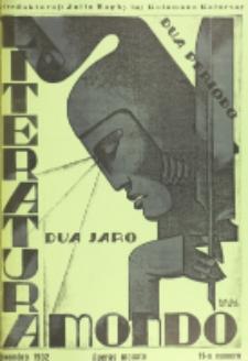 Literatura Mondo. Periodo 2, Jaro 2, numero 11 (Novembro 1932)
