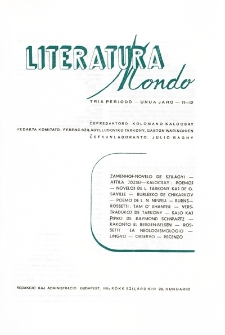 Literatura Mondo. Periodo 3, Jaro 1, numero 11-12 (1947)
