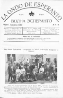La Ondo de Esperanto : volna esperanto. Jaro 4, No 8/9 (aug./sept.1912)