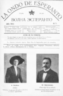 La Ondo de Esperanto : volna esperanto. Jaro 4, No 7 (julio1912)