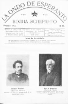 La Ondo de Esperanto : volna esperanto. Jaro 4, No 11 (novembro 1912)