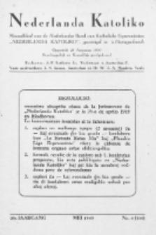"""Nederlanda Katoliko : maandblad, officieel orgaan van den Nederl. R.-Kath. Esperantistenbond """"Nederlanda Katoliko"""". Jg. 29, no 4 (1949)"""