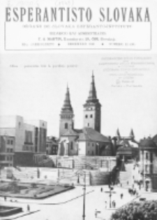 Esperantisto Slovaka. Jarkolekto 3, nr 12=30 (1948)