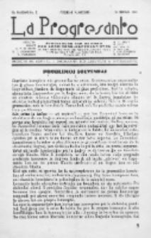 La Progresanto : studieblad van de Federatie van Arbeiders-Esperantisten in het Gebied van de Nederlandse Taal. Jaargang 10, no 2 (Februari 1948)
